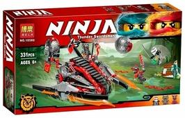 Конструктор BELA Ninja 10580 Алый захватчик