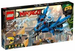 Конструктор LEGO The Ninjago Movie 70614 Самолет-молния Джея
