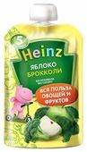 Пюре Heinz яблоко, брокколи (с 5 месяцев) 90 г, 1 шт