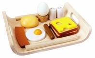 Набор продуктов с посудой PlanToys 3415