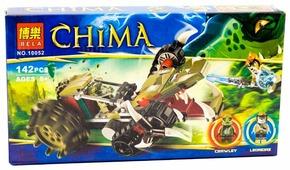Конструктор BELA Chima 10052 Потрошитель Кроули