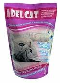 Впитывающий наполнитель Adel Cat Силикагелевый для кошек 4 л