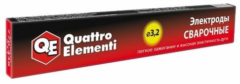 Электроды для ручной дуговой сварки Quattro Elementi 770-438 3.2мм 0.9кг
