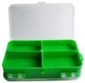 Коробка для приманок для рыбалки HELIOS двусторонняя 14х8х4см