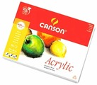 Альбом для акрила Canson Acrylic 32 х 24 см, 400 г/м², 50 л.