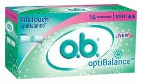 O.b. тампоны OptiBalance Mini