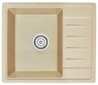 Врезная кухонная мойка Granula 5803 58х50см искусственный гранит
