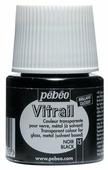 Краски Pebeo Vitrail Черный 050015 1 цв. (45 мл.)