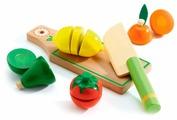 Набор продуктов с посудой DJECO Фрукты и овощи 06526