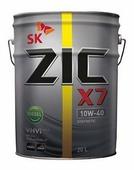 Моторное масло ZIC X7 DIESEL 10W-40
