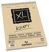 Альбом для набросков Canson XL Kraft 29.7 х 21 см (A4), 90 г/м², 60 л.