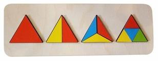 Рамка-вкладыш Нескучные игры Геометрия Треугольник (7939)