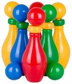 Игровой набор Класата Кегельбан с шариком и кольцом 6+2 (1603)