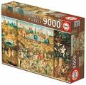 Пазл Educa Сад земных удовольствий (14831), 9000 дет.