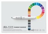 Альбом для маркеров Winsor & Newton Pigment Marker 42 х 29.7 см (A3), 75 г/м², 50 л.