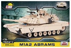 Конструктор Cobi Small Army 2608 Абрамс M1A2