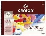 Альбом для пастели Canson Mi-Teintes белый 41 х 32 см, 160 г/м², 16 л.