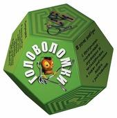 Набор головоломок Новый формат Додекаэдр Зеленый (80349) 2 шт.