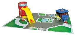 Maisto Игровой набор Emergency City: пожарная и полицейская станция 12117
