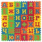 Коврик-пазл Играем вместе Союзмультфильм с буквами (D18591ABC-CRT)