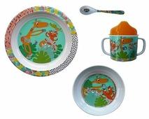 Комплект посуды Ebulobo Зоопарк (04EB0040)