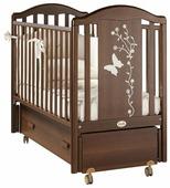Детская кроватка Feretti Privilege Swing BIANCO/ WHITE (белая)