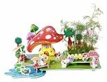 3D-пазл Zilipoo 3D Сельский пейзаж (Z-003), 34 дет.