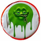 Ледянка RT Монстрик с трубочкой зеленый (5041)