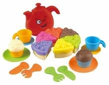Набор продуктов с посудой PlayGo для чаепития 2411