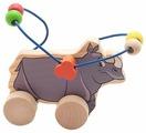 Каталка-игрушка Мир деревянных игрушек Носорог (Д365)