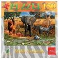 Пазл Hatber Wild animals Животные саванны (150ПЗ4_12234), 150 дет.