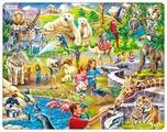 Рамка-вкладыш Larsen Зоопарк (US30), 48 дет.