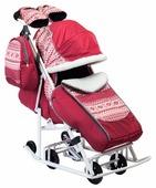 Санки-коляска Моё детство Pikate Скандинавия (Pikate-SC)