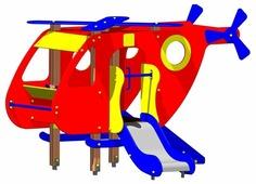 Домик МСК-Гарант Вертолет 4401