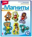 LORI Магниты - Звери-футболисты (М-067)