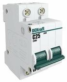 Автоматический выключатель DEKraft ВА-101 2P (C) 4,5kA