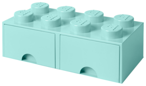 Ящик LEGO 2х4 Knobs с выдвижными ящиками 50х25х18 см (4006)