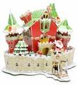 3D-пазл CubicFun Сказочный рождественский замок (P646h), 84 дет.