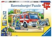 Набор пазлов Ravensburger Полицейские и пожарные (07574)