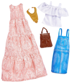 Barbie Комплект одежды с аксессуарами для Барби FKT27/FKT31
