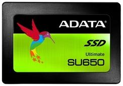 Твердотельный накопитель ADATA Ultimate SU650 240GB (color box)