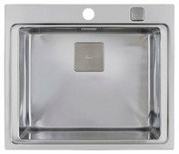 Врезная кухонная мойка TEKA Zenit R15 1B 60х52см нержавеющая сталь
