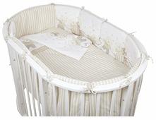 Pituso комплект для овальной кроватки Мишки (6 предметов)