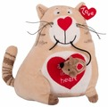 Мягкая игрушка Gulliver Кот и мышь 20 см