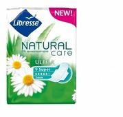 Libresse прокладки Natural Care Ultra Super