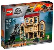 Конструктор LEGO Jurassic World 75930 Нападение Индораптора в поместье Локвуд