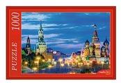 Пазл Рыжий кот Вечерний Кремль (КБ1000-6858), 1000 дет.