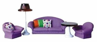 ОГОНЁК Набор мягкой мебели для гостиной Конфетти (С-1336)