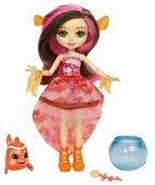 Кукла Enchantimals Морские подружки с друзьями Кларита Рыба-клоун, 15 см, FKV56