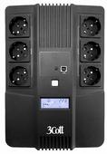 Интерактивный ИБП 3Cott 650-CDL